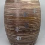 Urna cineraria brown