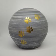 Urna sfera grey