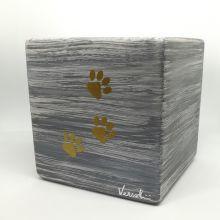 Urna cubo grey